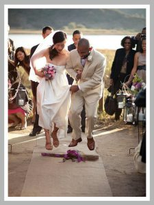 Jumping The Broom Marrying Marc